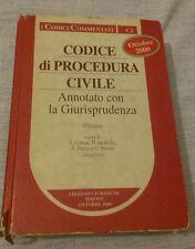 CODICE DI PROCEDURA CIVILE ANNOTATO CON LA GIURISPRUDENZA - Simone - 2000