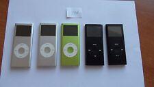 Job lot 5x Apple iPod Nano 2nd Generation 2GB,4GB,8GB Small defect (Battery) 227