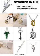 The Lord of the Rings Jewellery The Hobbit LOTR Elf Frodo Thorin Ring Necklace