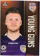 2017/18 FFA A-League Trading Cards - Alexander Grant (Young Guns YG-18)