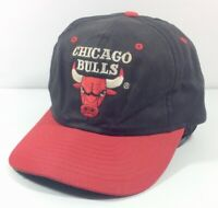 Vintage Chicago Bulls Universal Snapback Cap Hat 90s Adult Size NBA Basketball