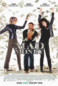 Mad Money (Double Sided Regular) (2008) Original Movie Poster