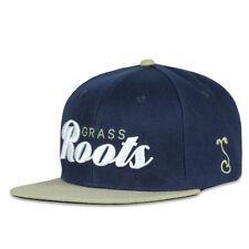 cappello GRASSROOTS CALIFORNIA team roots navy snapback