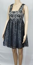 NWT Alice & Olivia Black Lace Party/Prom Dress, Size 4