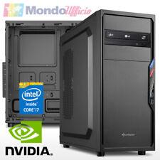 PC Computer Intel i7 9700 - Ram 32 GB - SSD 480 GB - HD 1 TB - nVidia GT 1030