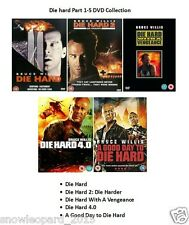 DIE HARD COMPLETE ALL MOVIE FILM COLLECTION DVD PART 1 2 3 4 5 New Sealed