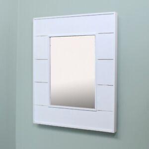 13x16 Beautiful Wood Mirrored Medicine Cabinets by Fox Hollow Furnishings