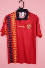 De Colección Adidas España España Camiseta De Fútbol Camiseta Shirt Trikot 1994-1996 S