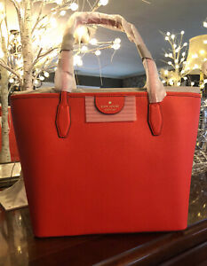 Kate Spade New York LORI Tote Zip Top, NWT, Tamarillo Orange