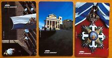 schede telefoniche SAN MARINO Seconda Serie 1995 olografiche 7004 7005 7006