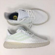 Adidas Women Sz 7 Mens Sz 5 Sobakov White Sneakers Runners Shoe B41966