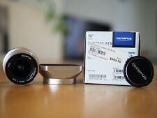 Olympus M.Zuiko Digital ED 12mm f/2 Lens - Silver