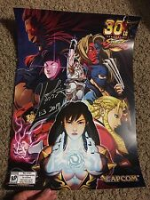 STREET FIGHTER 30th Anniversary Poster SIGNED By Producer Yoshinori Ono E3 2017