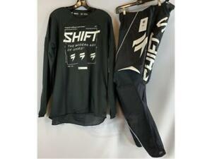 Shift MX Racing Whit3 Label Jersey & Pant Combo Gear Set Motocross ATV/MTB '21