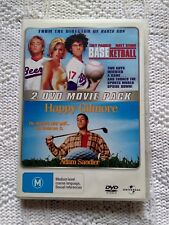 BASKETBALL / HAPPY GILMORE – 2 DVD, R-4, LIKE NEW FREE POST WITHIN AUSTRALIA