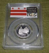 2009 S  District of Columbia  Quarter PCGS PR69DCAM Silver  (M307)