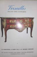 1971 Catálogo De Venta Demuestra Versailles Pizarra Antiguos Artículo D Art