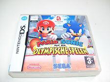 Mario & Sonic Op De Olympische Spelen Beijing 2008* NINTENDO DS GAME *