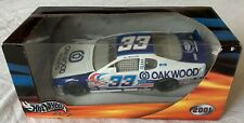 Hot Wheels 2001 Joe Nemechek #33 Oakwood Homes NASCAR 1:24 Car - New!!