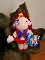 Sailor Mars  Moon R UFOCatcher Plush BSM-14 Rare 1994 Banpresto Ornament NEW+TAG