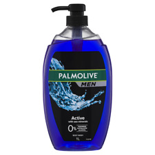 Palmolive Men Body Wash 1 Litre Skin Care - Active with Sea Minerals