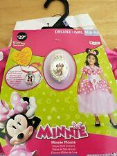 Disney Minnie Mouse Deluxe Sparkle Child Medium ( 8 - 10 ) Halloween Costume New