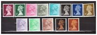 s30759) UK GREAT BRITAIN 1971 MNH** Decimal Definitives 13v
