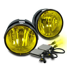 2007-2015 FORD EXPEDITION/2008-2011 RANGER BUMPER YELLOW FOG LIGHTS W/3K HID SET