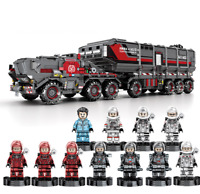 Building Blocks Large Carrier Military Figure Toy Gift Model Collection 3712PCS