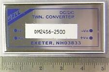2 Wall DM24S6-2500 Series 18-36V Input 6V 2.5A Output 0DC to DC Converters