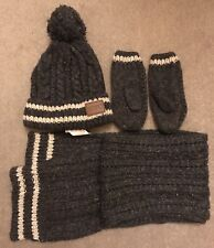 Boy Hat, Gloves And Scarf Set in size S