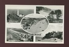 Devon TORCROSS Lighthouse M/view c1930/50s? RP PPC by Tuck