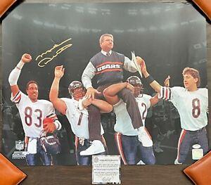 MIKE DITKA Chicago BEARS NFL Football 16x20 PHOTO Super Bowl XX Da Coach SS COA