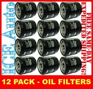 12 PACK Prime Guard POF2222 Engine Oil Filters (Fram Wix ACDelco Hastings)