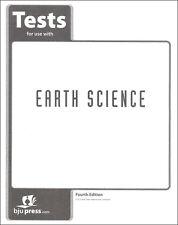 BJU Press Earth Science Tests - 271502