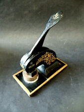Vintage Embossing Letter Press Stamp Seal Paper Weight Univerco Property Limited