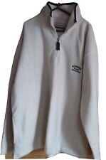 Giorgio Giotech fleece mens vintage sherpa sportswear '1964' size large L cream