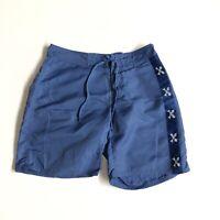 Vineyard Vines Mens Blue Nylon Swim Trunks Board Shorts Size 32