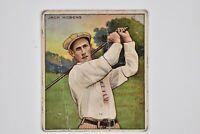 Vintage Mecca Cigarette Tobacco Premium Trade Card Jack Hobens Champion Golfers