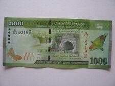 billet de banque Sri Lanka-neuf-1000 Rupees 2015.