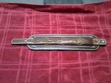 Custom leather rifle sling pad made in USA 4805