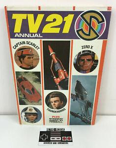 Vintage TV 21 Annual Book 1968 1960s Thunderbirds Captain Scarlet Stingray UK