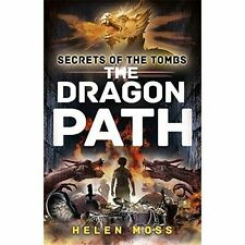 Secrets of the Tombs 2: The Dragon Path, Good Condition Book, Moss, Helen, ISBN