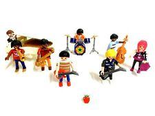 Playmobil Custom GRUPO JAZZ - JAZZ BAND   Piano  Musicos - Musicians - Musiker