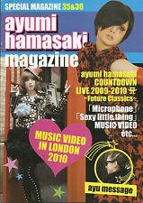 Hamasaki Ayumi Team Ayu Magazine Vol.35/36
