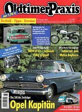OP0208 + NORTON Atlas von 1963 + BMW R 62 + Oldtimer Praxis 8/2002