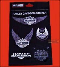 ADESIVI MOTO HARLEY DAVIDSON ORIGINALE ACCESSORI SERBATOIO CUSTOM BIKER STICKER