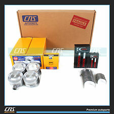 "FORD FOCUS SOHC ""P""  2.0 ENGINE REBUILD KIT-5PC FULL GASKET SET BEARINGS PISTONS"