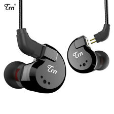 TRN V80 2BA+2DD Quad Driver Hybrid In Ear Headphone With 2 Pin Detachable Cable