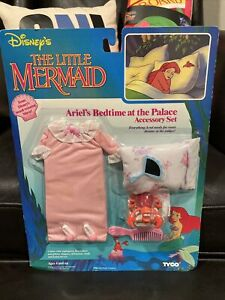 The Little Mermaid Ariel's Bedtime At The Palace Accessory Set Disney Tyco 90s